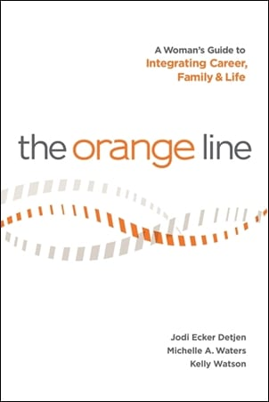 The Orange Line Book Cover Development Coaching and Being Successful at Work