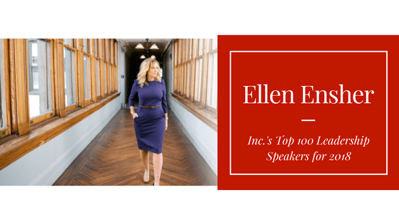 Top 100 Leadership Speakers for 2018 - Ellen Ensher